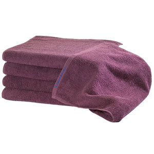 BluSand Wine Colored Bleachsafe Hand Towel 12 pack
