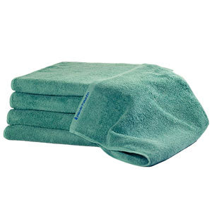 BluSand Forest Green Bleachsafe Hand Towel 12 pack