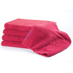BluSand Ruby Red Bleachsafe Hand Towel 12 pack