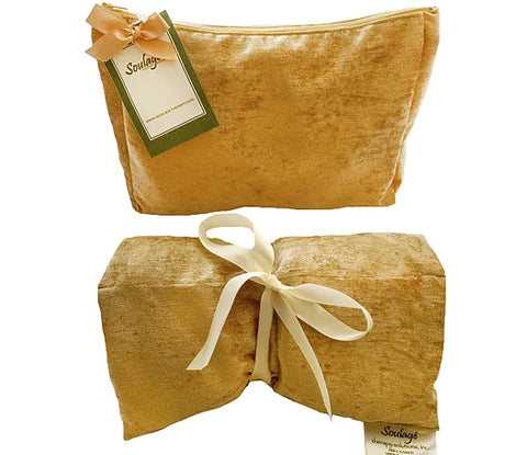 Soulage Asian Gold Chenille Body Wrap