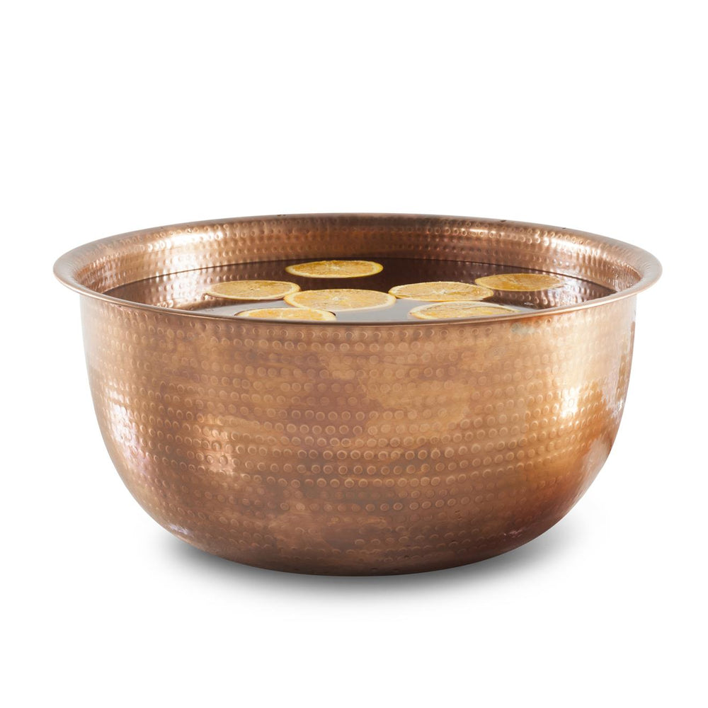 Noel Asmar Hammered Copper Bowl