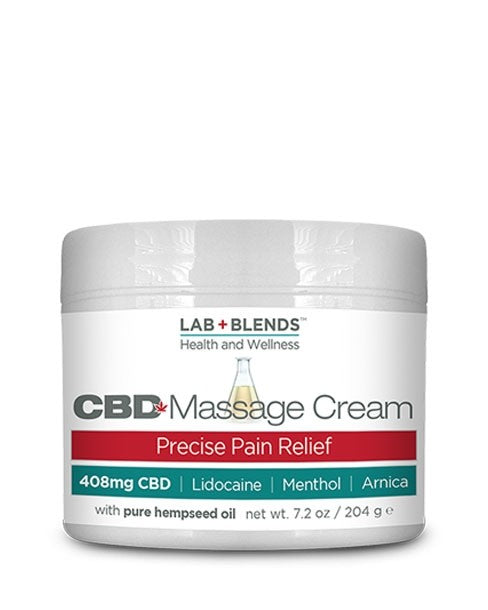 Biotone CBD Massage Cream - 408mg