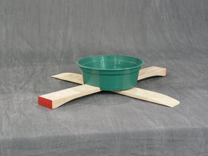 Wood Stands & Water Bowls