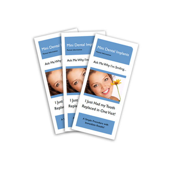 Patient Education Brochures 100ct