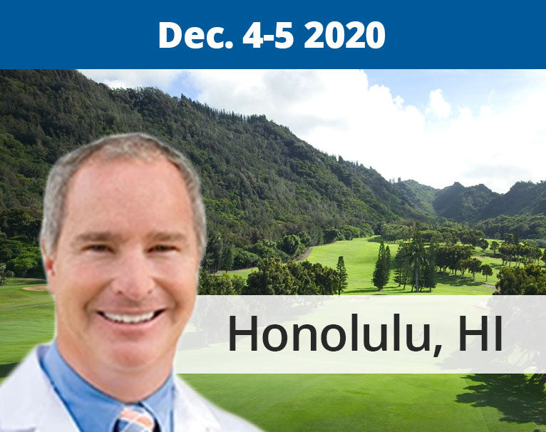 2-Day Hawaiian Dental Implant Certification Course (Dec. 4-5, 2020)