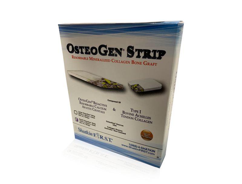 OsteoGen Strip | Small 12x20x3mm | 2 Pack