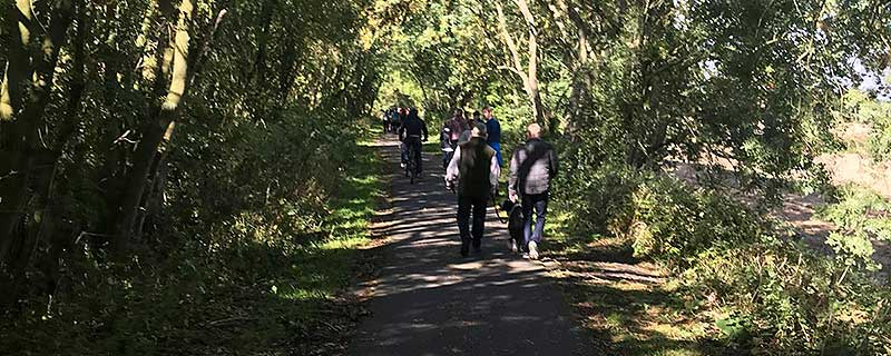 Dementia Forward - Castle to Castle Walk September 2018