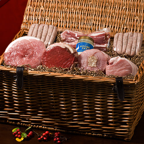 Give the gift of a meat hamper