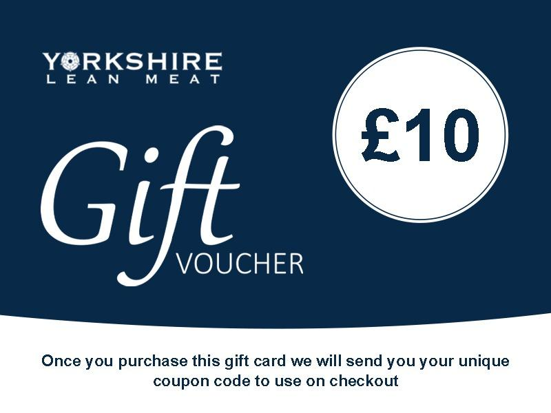 Yorkshire Lean Meat Gift Card £10 Gift Card
