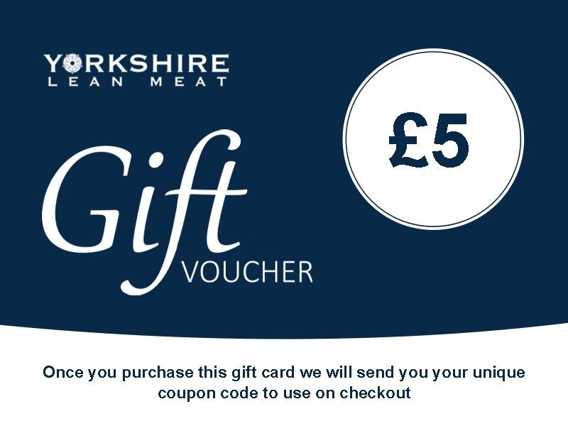 Yorkshire Lean Meat Gift Card £5 Gift Card
