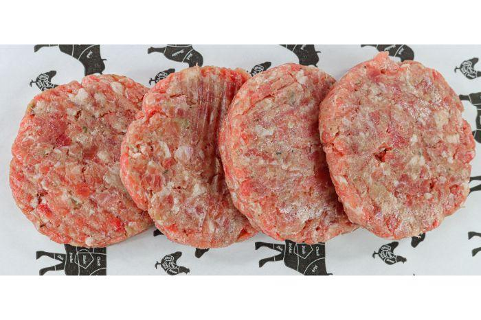 Yorkshire Lean Meat Pork and Apple Burger Pork and Apple Burgers