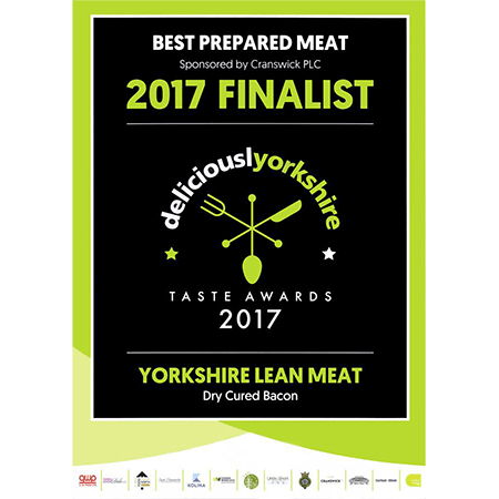 Delicously Yorkshire Award Finalists in 2017