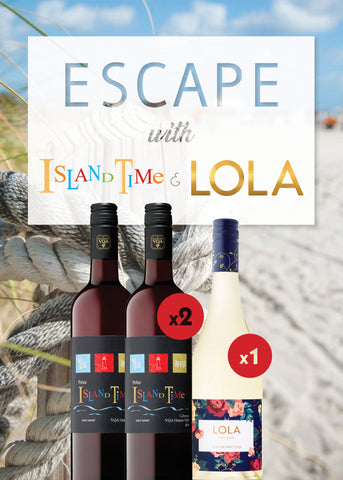 Escape with Island Time & LOLA 3 Bottle Package - $37.99 (FREE SHIPPING)