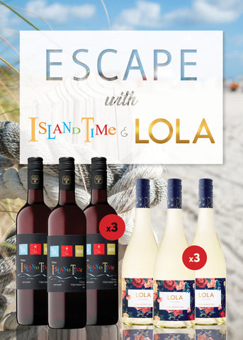 Escape with Island Time & LOLA Package 6 Bottle - $70.99 (FREE SHIPPING)