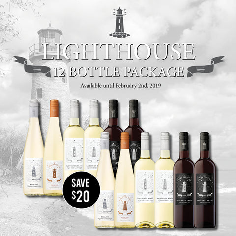 Lighthouse 12 Bottle Package - $159.99 (Free Shipping)