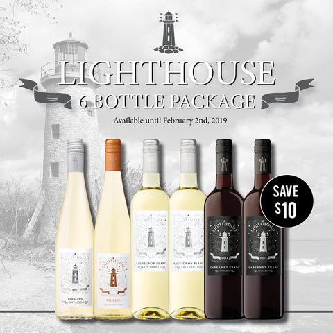 Lighthouse 6 bottle pack - $79.99 (Free Shipping)