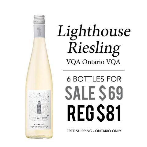 Lighthouse Riesling VQA 6 Bottles - SALE $69