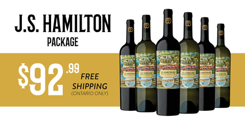 J.S. Hamilton Package - 6 bottles $92.99