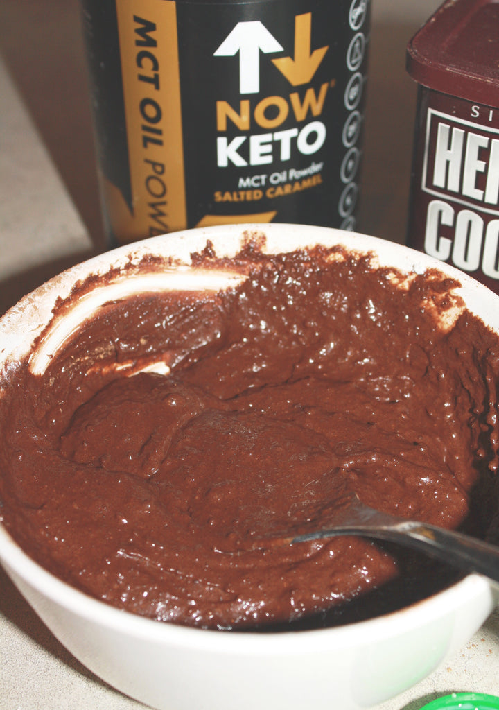 now keto salted caramel mct keto mug brownie recipe for the keto diet and ketosis photo 1