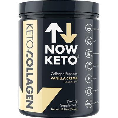 Now keto Keto Collagen-Strawberry protein meal replacement collagen peptides from bone broth pruvit keto diet supplement powder(1000x1000)