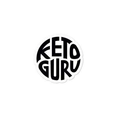 Keto Guru Bubble-free stickers