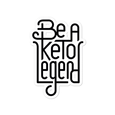 Keto Legend Bubble-free stickers
