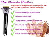 Automatic Rechargeable Electric Foundation Brush
