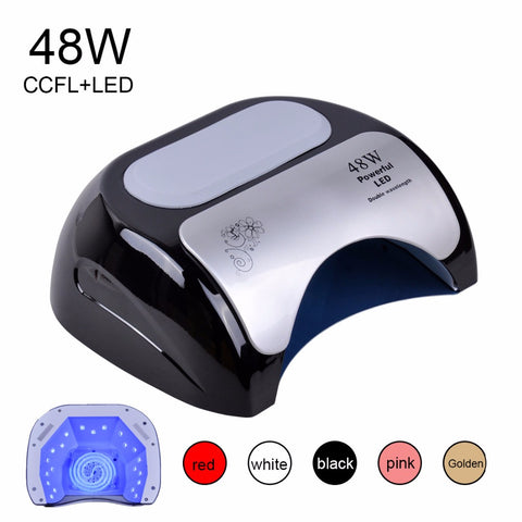 Biutee 48W Nail Dryer Polish Machine CCFL UV Lamp LED Nail Lamp For Gel Nail Polish Art Automatic Hand Sensor Nail Art Tools