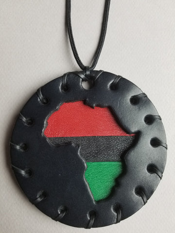 Classic Pan African Medallion - Large