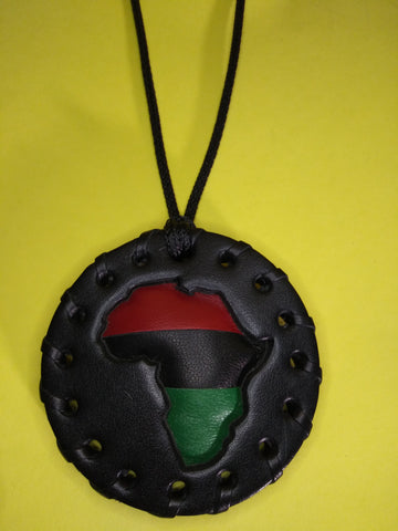 Small Pan African Puff Medallion