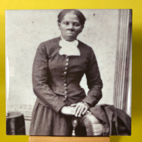 Harriet Tubman Porcelain Tile Coaster