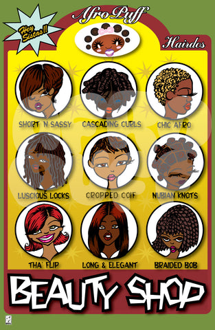 Beauty Shop Print