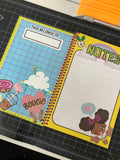 AfroPuff™ Kawaii Spiral Notebook