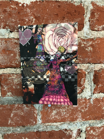 Flower Dancing Doll Card