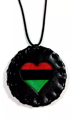 pan african love medallion
