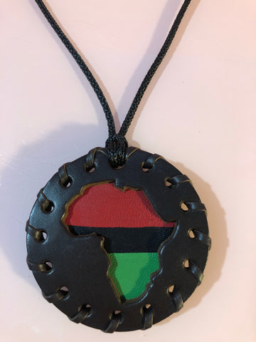 Brown Classic Pan African Medallion