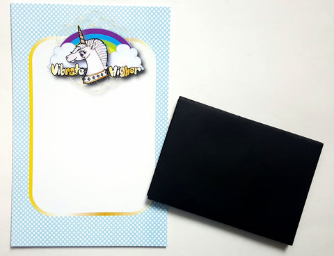 Vibrate Higher Unicorn Mini Stationery Set