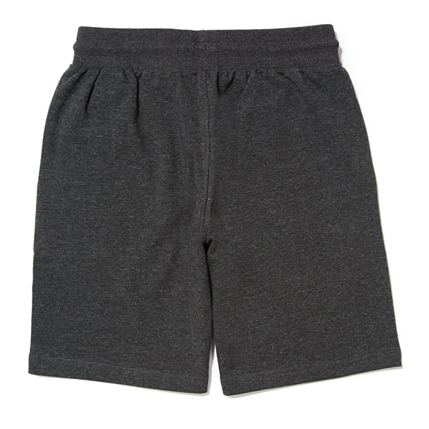 Men's Knitted Sweat Shorts::Charcoal