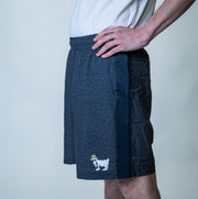 Men's Athletic Shorts::Navy Heather