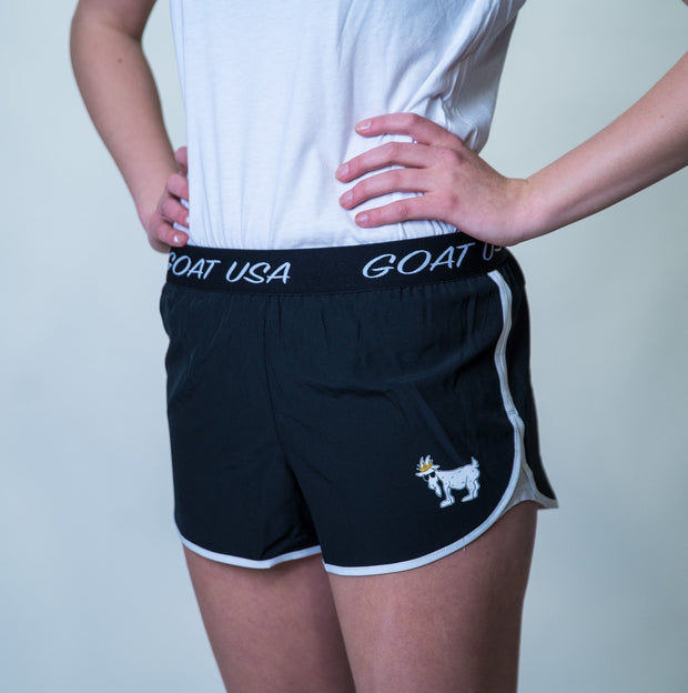 Women's Athletic Shorts::Black