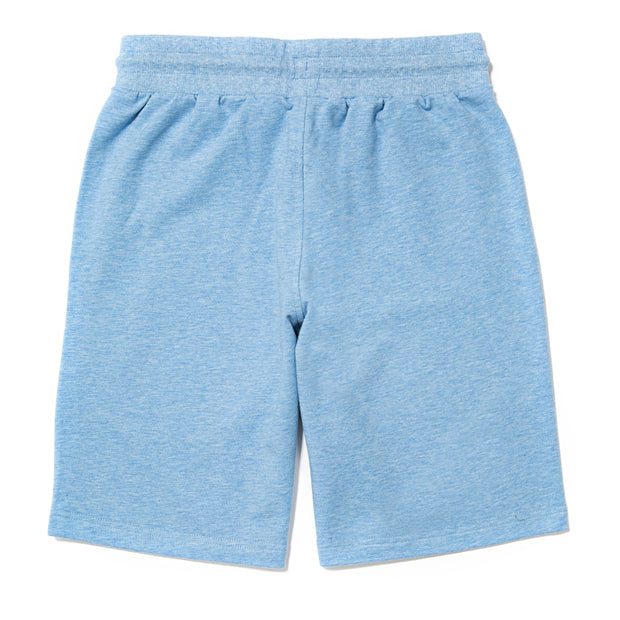 Men's Knitted Sweat Shorts::Light Blue