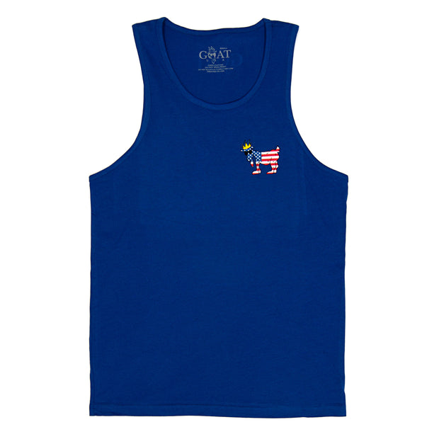 Freedom Tank Top:: Royal
