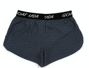 Women's Athletic Shorts::Navy Heather