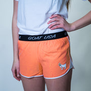 Women's Athletic Shorts::Guava