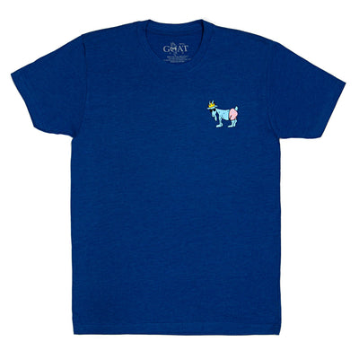 Ride The Wave T-Shirt::Royal
