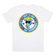 Patch T-shirt::White