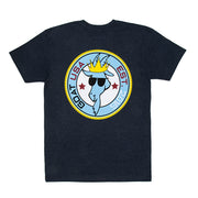 Patch T-shirt::Navy