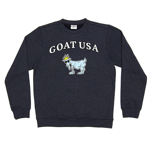 The Big GOAT Crewneck::Navy