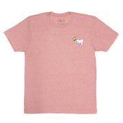 Party On The GOAT Yacht T-Shirt::Heather Pink