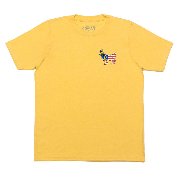 Freedom T-Shirt::Banana Cream